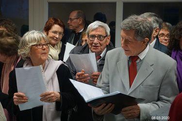 08.03.2020 concert à l'HOPITAL-CAMFROUT, 30 ans de la Chorale Kan ar Vag avec la Chorale de la Côte des Légendes de LESNEVEN