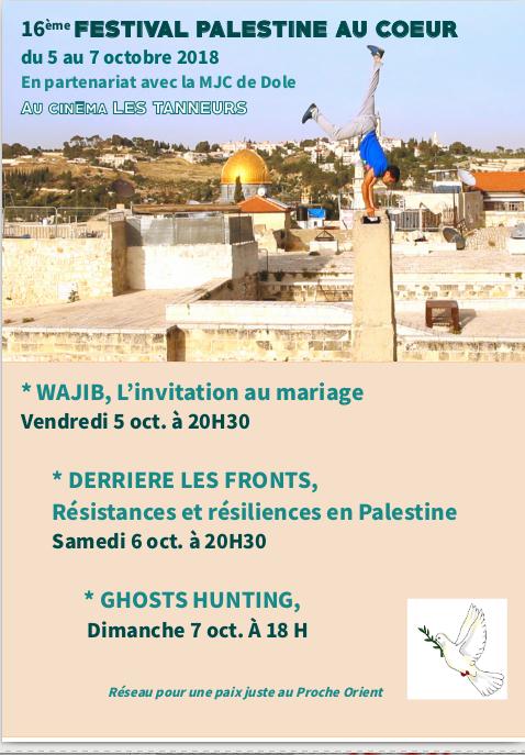 Festival Palestine au coeur à Dole