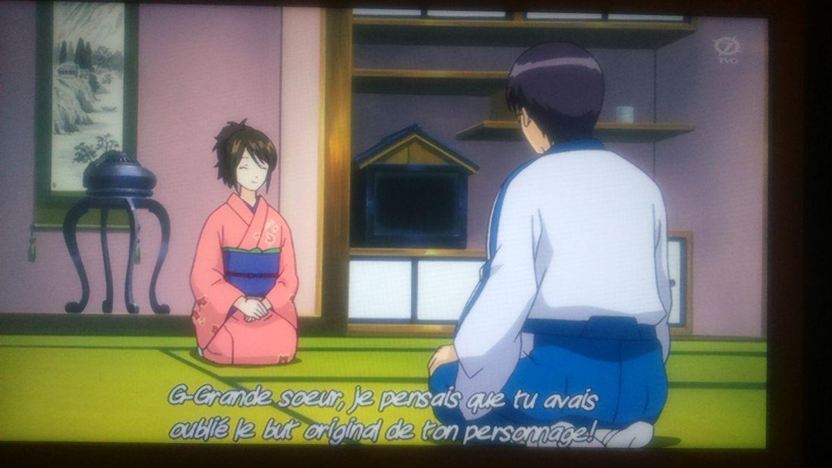 exemple de cassage du quatrième mur dans Gintama, l'anime 2016 à découvrir !