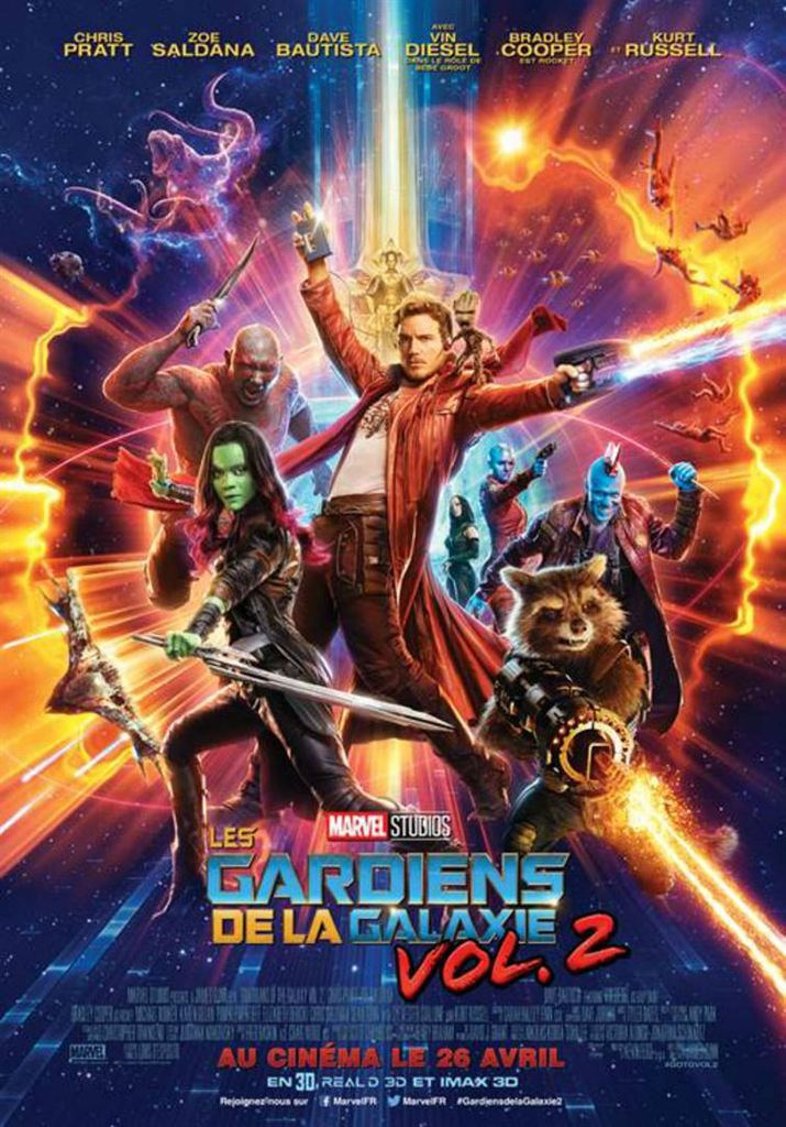 [actuellement au ciné] Les gardiens de la galaxie 2 !