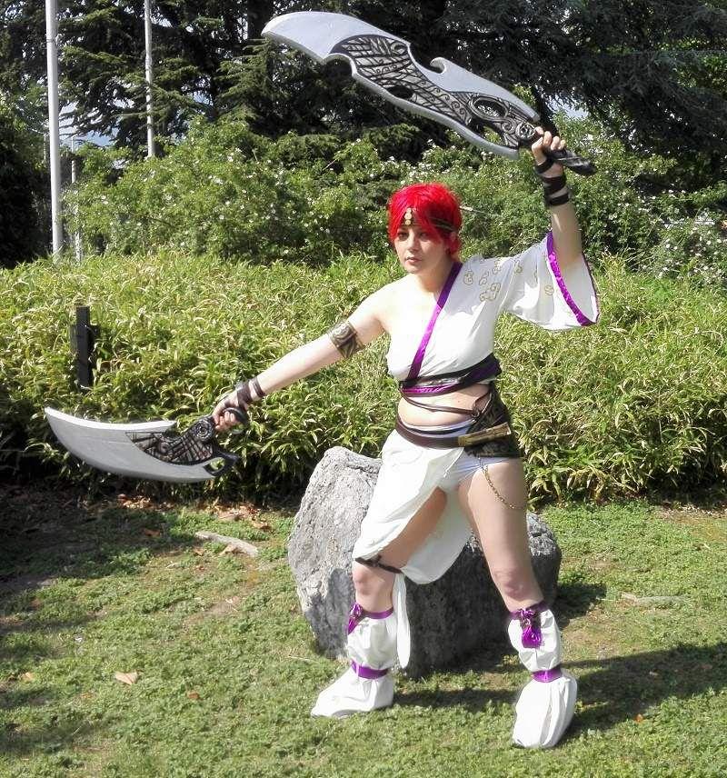 [cosplay] Nariko rencontre Kagura, qui sera la plus forte ? :)  - Herofestival grenoble 2018