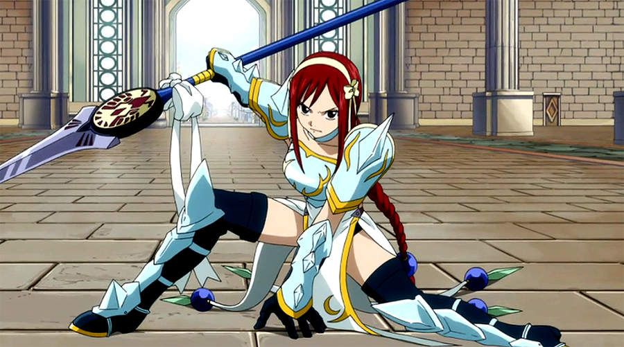 Work In Progress Cosplay Erza Imperatrice de Foudre