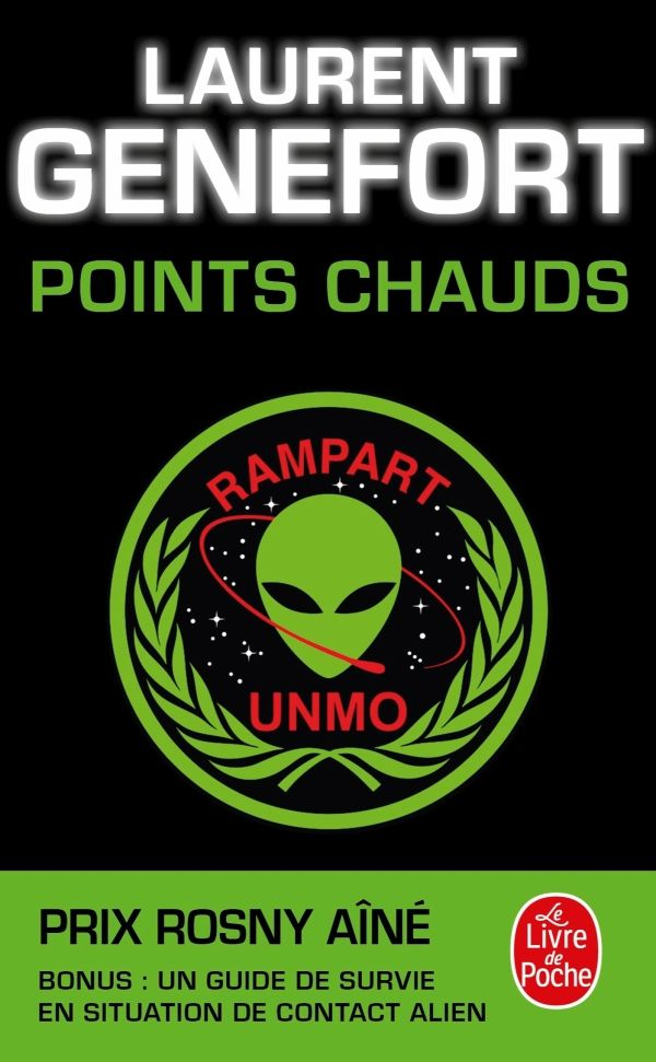 [livre SF] Points chauds, Laurent Genefort