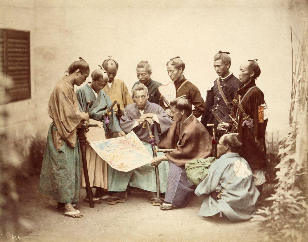Samourais de Satsuma