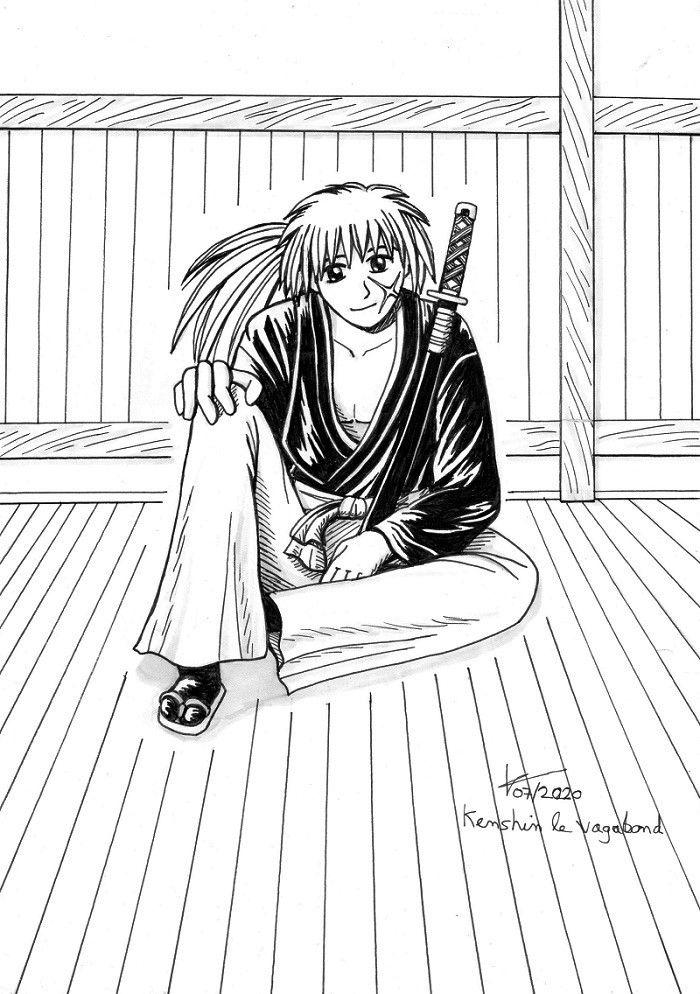 [dessin] Kenshin le vagabond