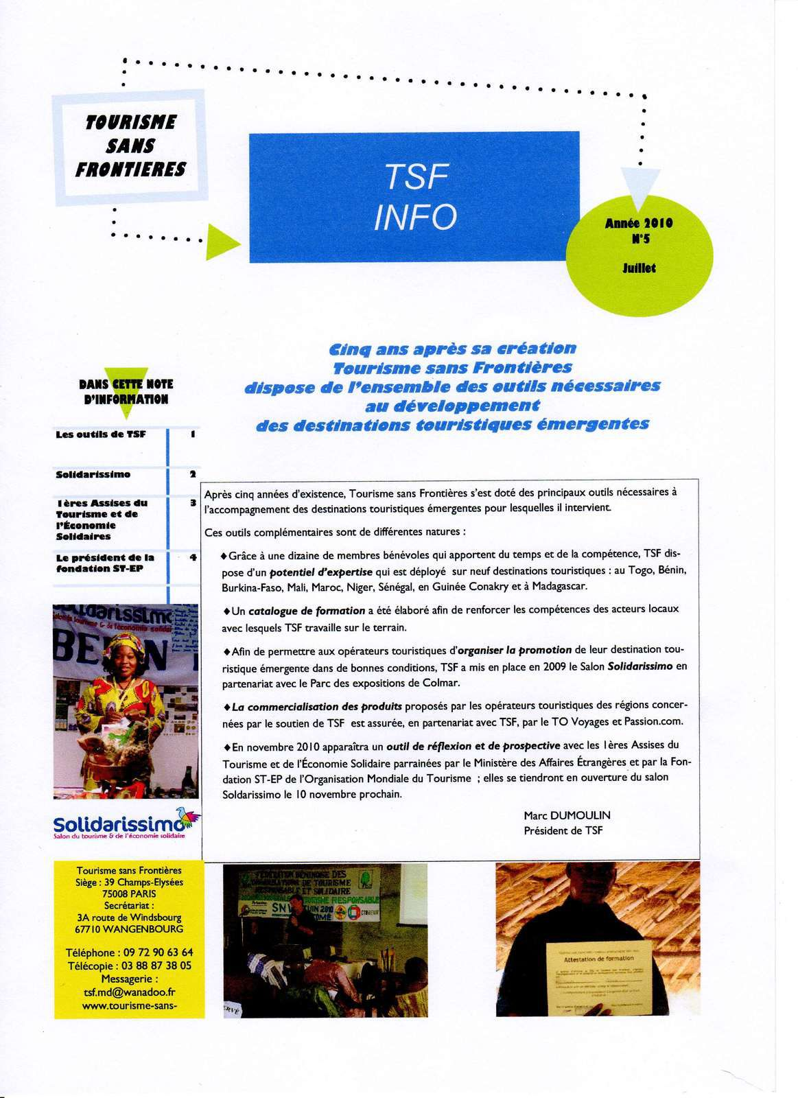 Les publications