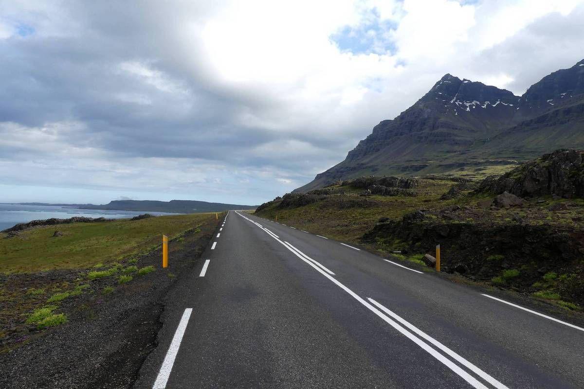 Islande 2017 : J6 Höfn-Fáskrúðsfjörður 200kms