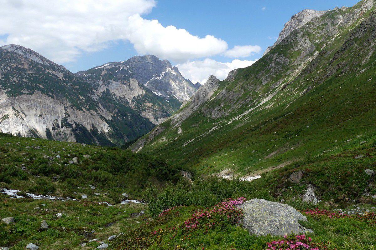 3 Jours en Vanoise J2 : Refuge de Péclet-Polset - Refuge de la Valette