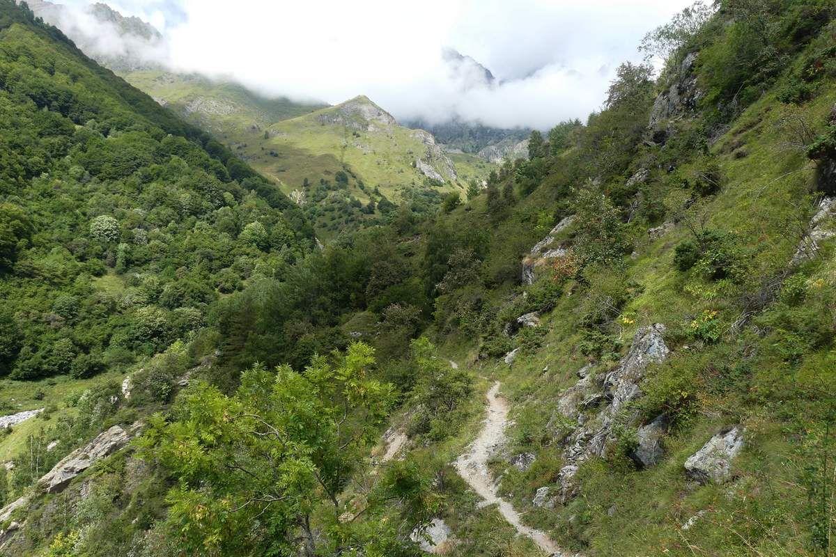 3 Jours dans le Valgaudemar : J1 Villar Loubière - Refuge des Souffles