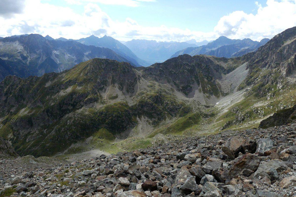 3 Jours dans le Valgaudemar : J2 Refuge des Souffles - Refuge de l' Olan