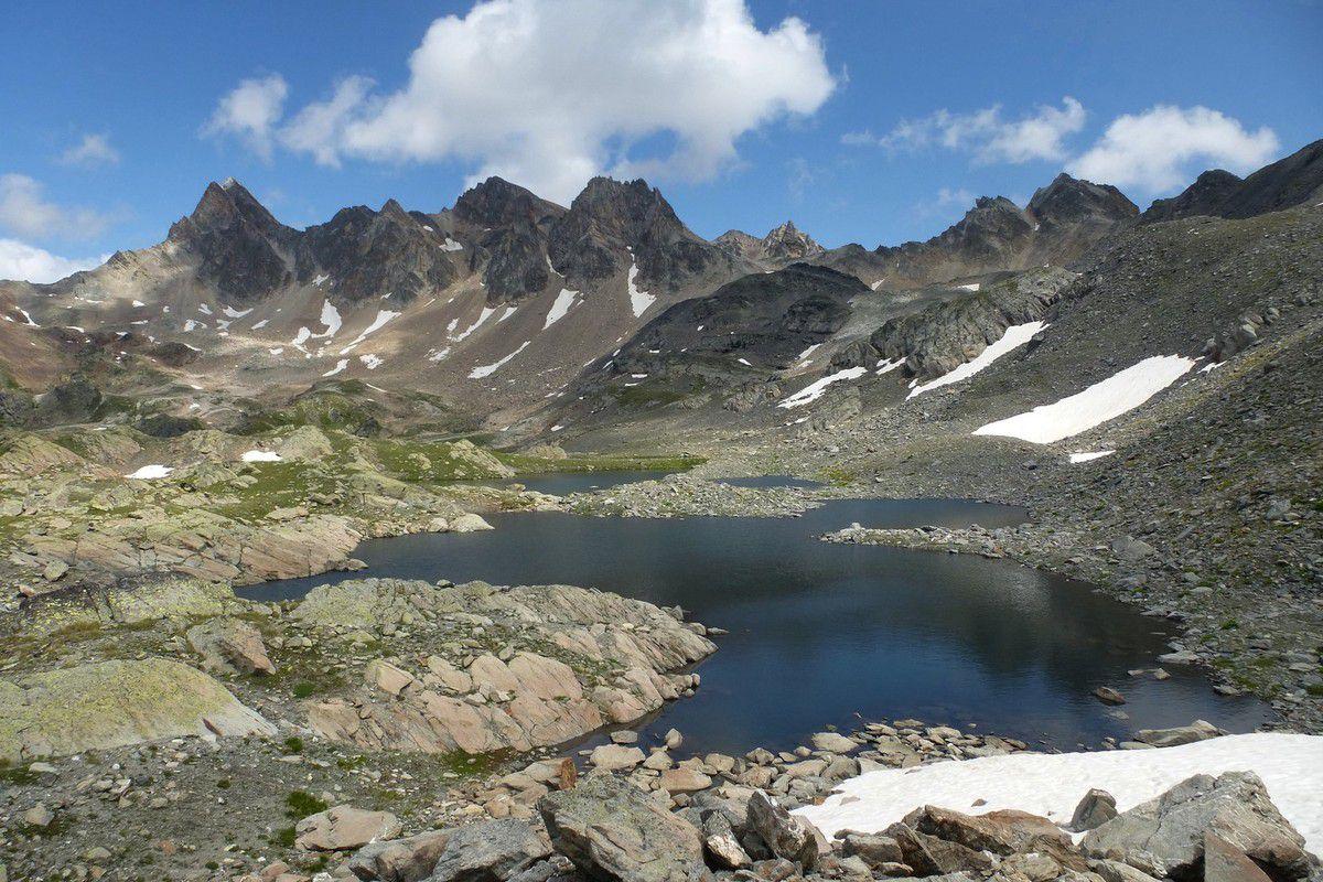 3 Jours dans les Cerces : J2 Montée en direction du Mont Thabor, Lac des Glaciers (2663m)