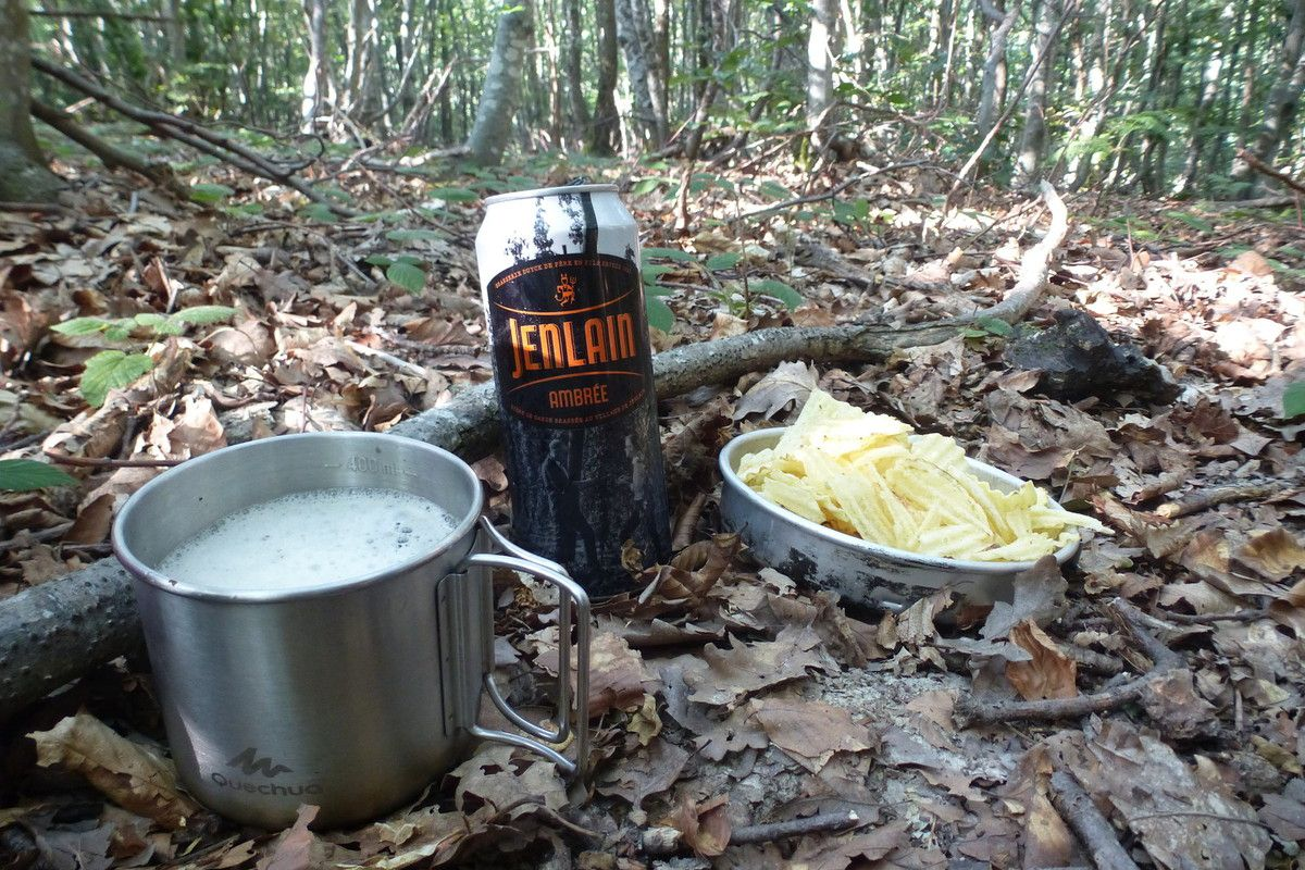 Casse croûte en forêt