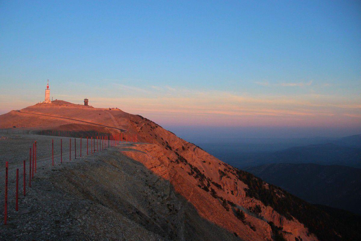 Lever de Soleil au Mont Ventoux