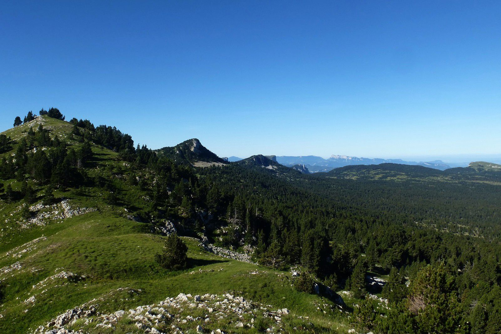 2 Jours sur les Hauts Plateaux : J2 Le Petit Veymont (2120m)