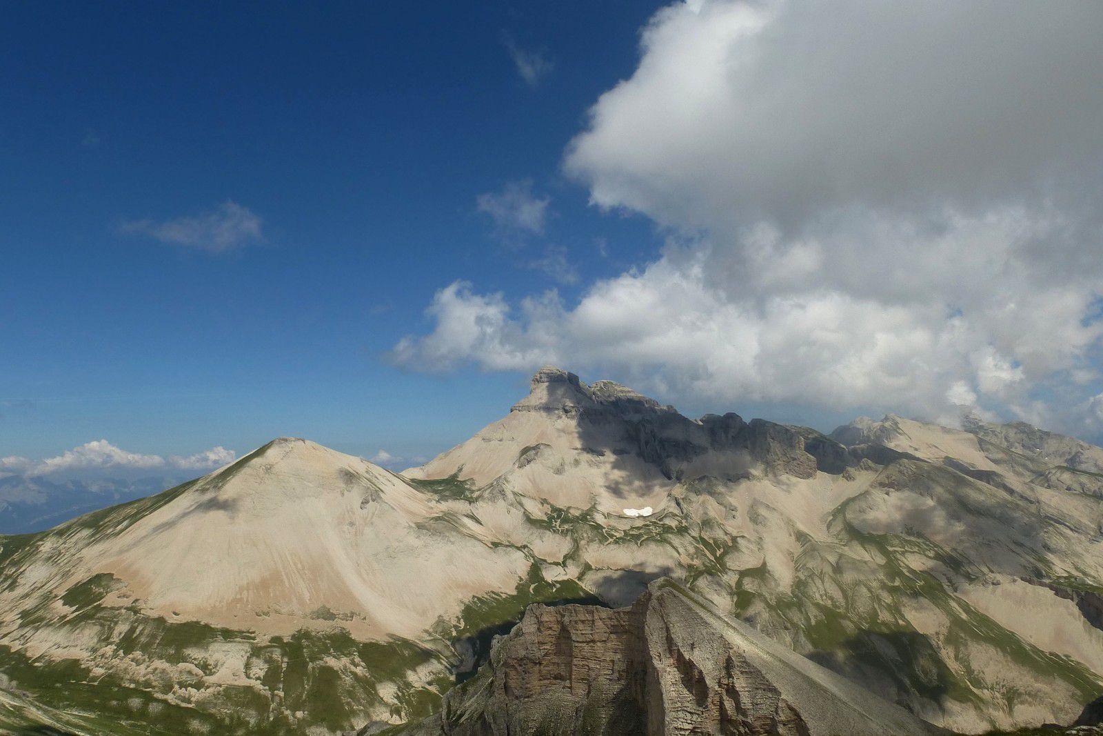 Le Rocher Rond (2453m)