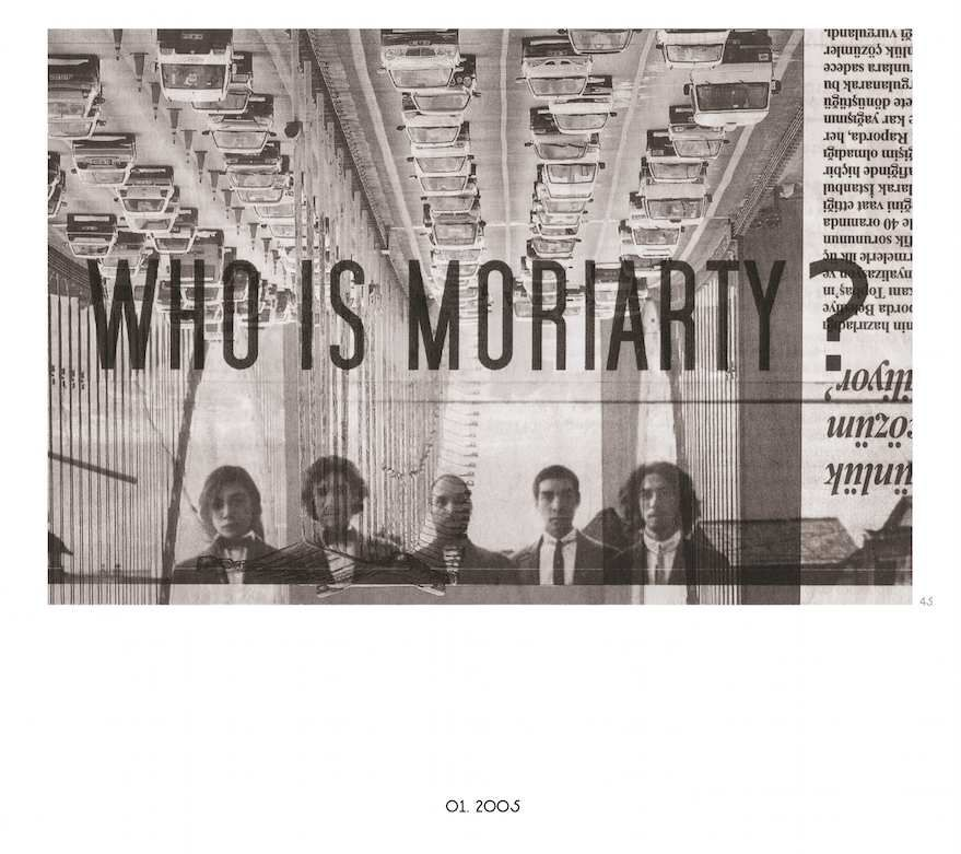 MORIARTY : lettres à France