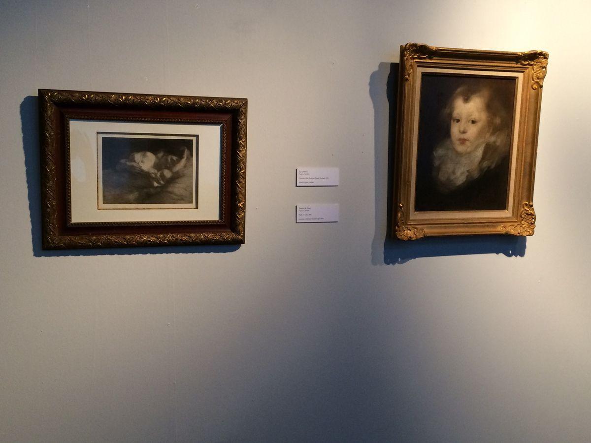 Les CE1B au Musée Eugène Carrière