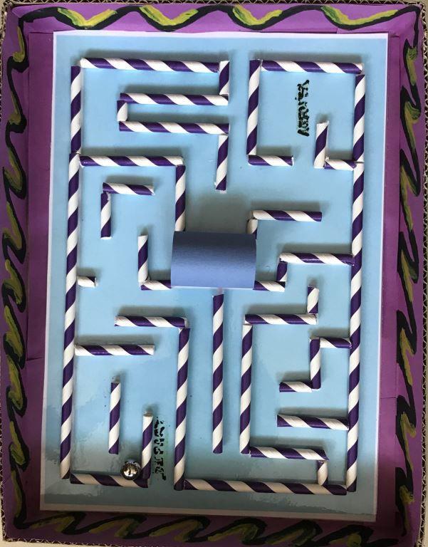 Labyrinthe de Rayan CM1A
