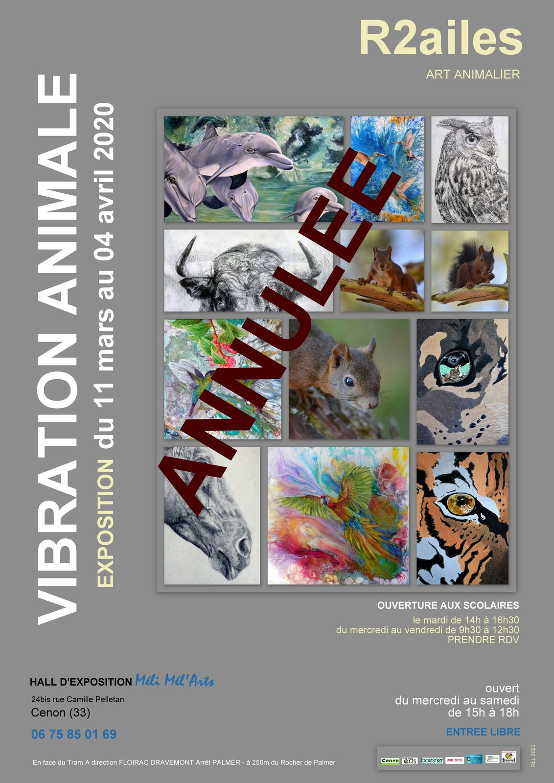 EXPOSITION « VIBRATION ANIMALE »