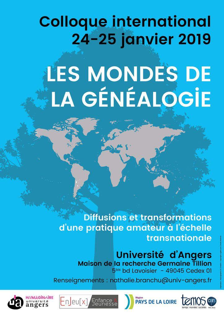 Colloque les mondes de la généalogie : Joffrey Liénart