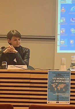 Colloque les mondes de la généalogie : Sophie Boudarel