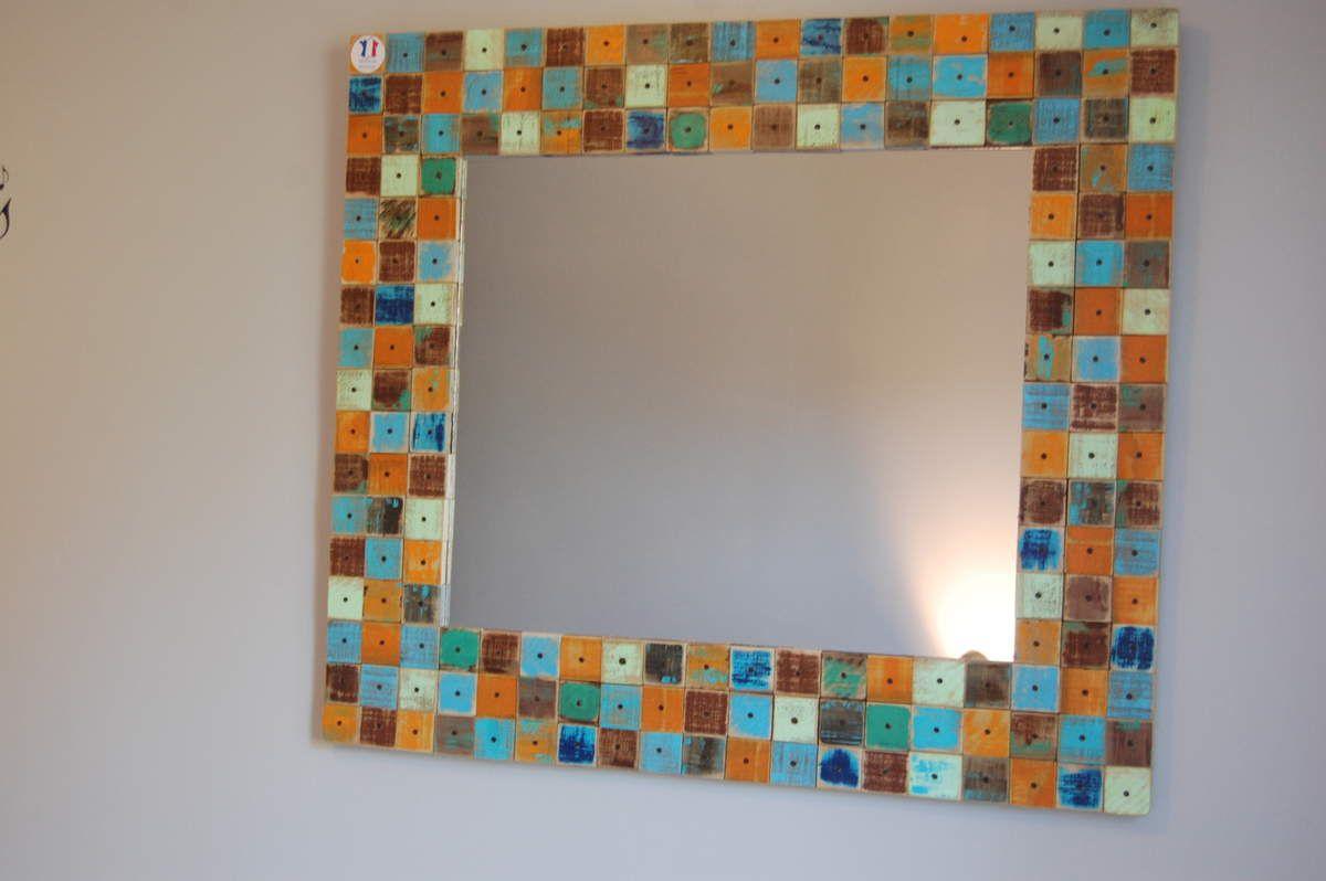 Miroir création artisanale