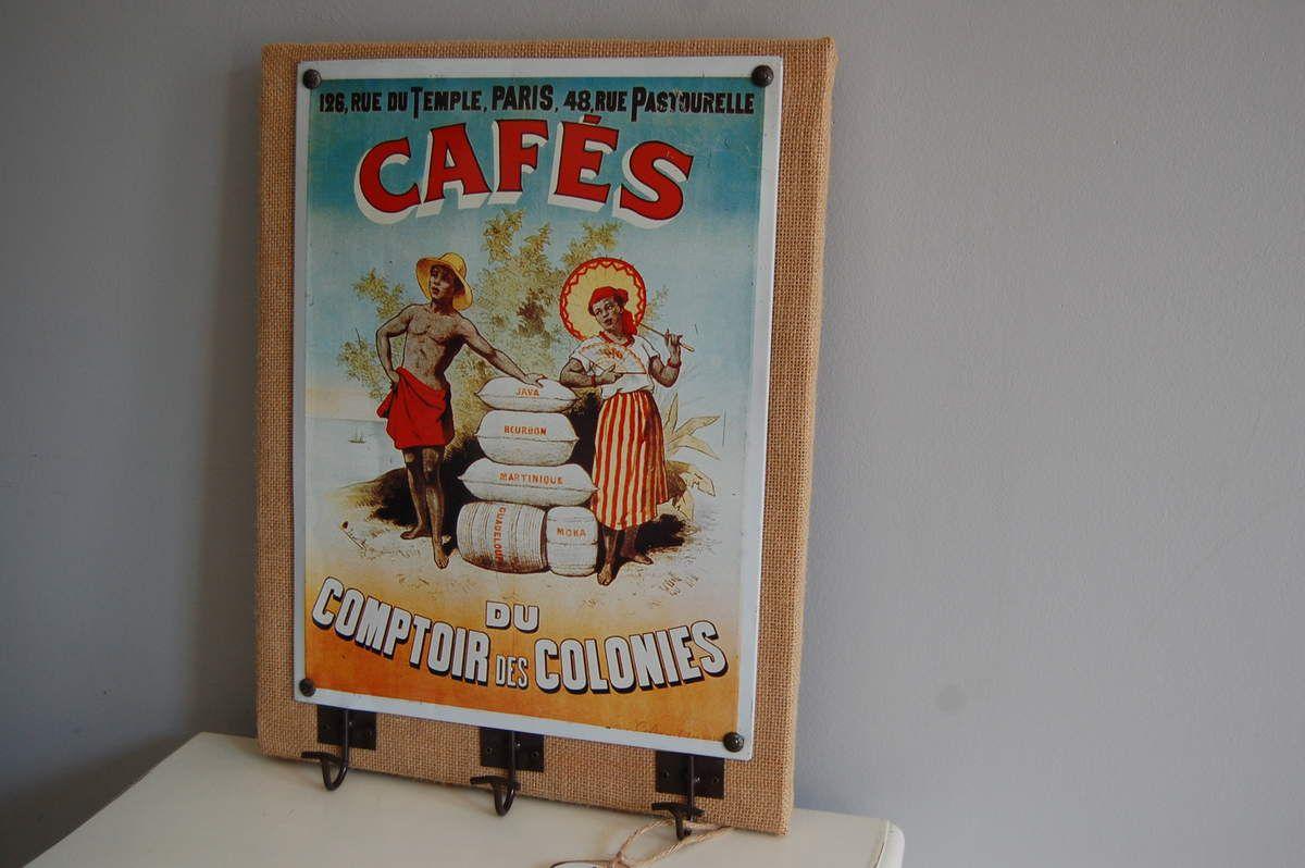 CADRE CAFES DES  COLONIES