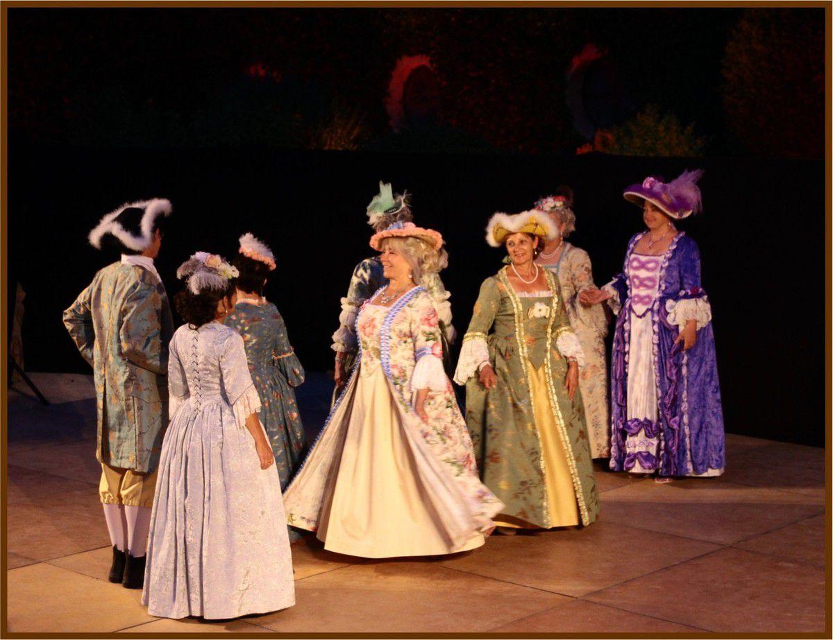 """Le spectacle """"Lafayette et ses Dames"""""""
