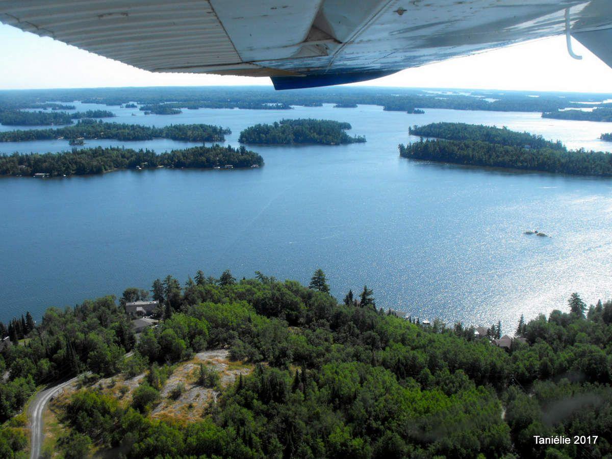 Le lac des bois à Kenora Canada