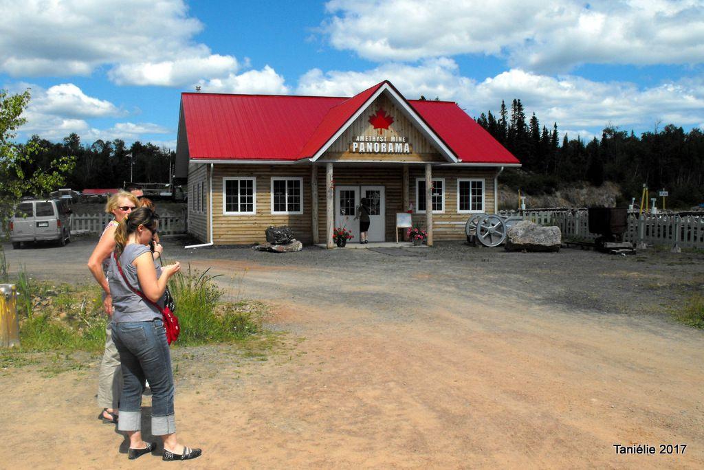 Mine  d'Améthyste Panaorama à Thunder Bay en Ontario au Canada