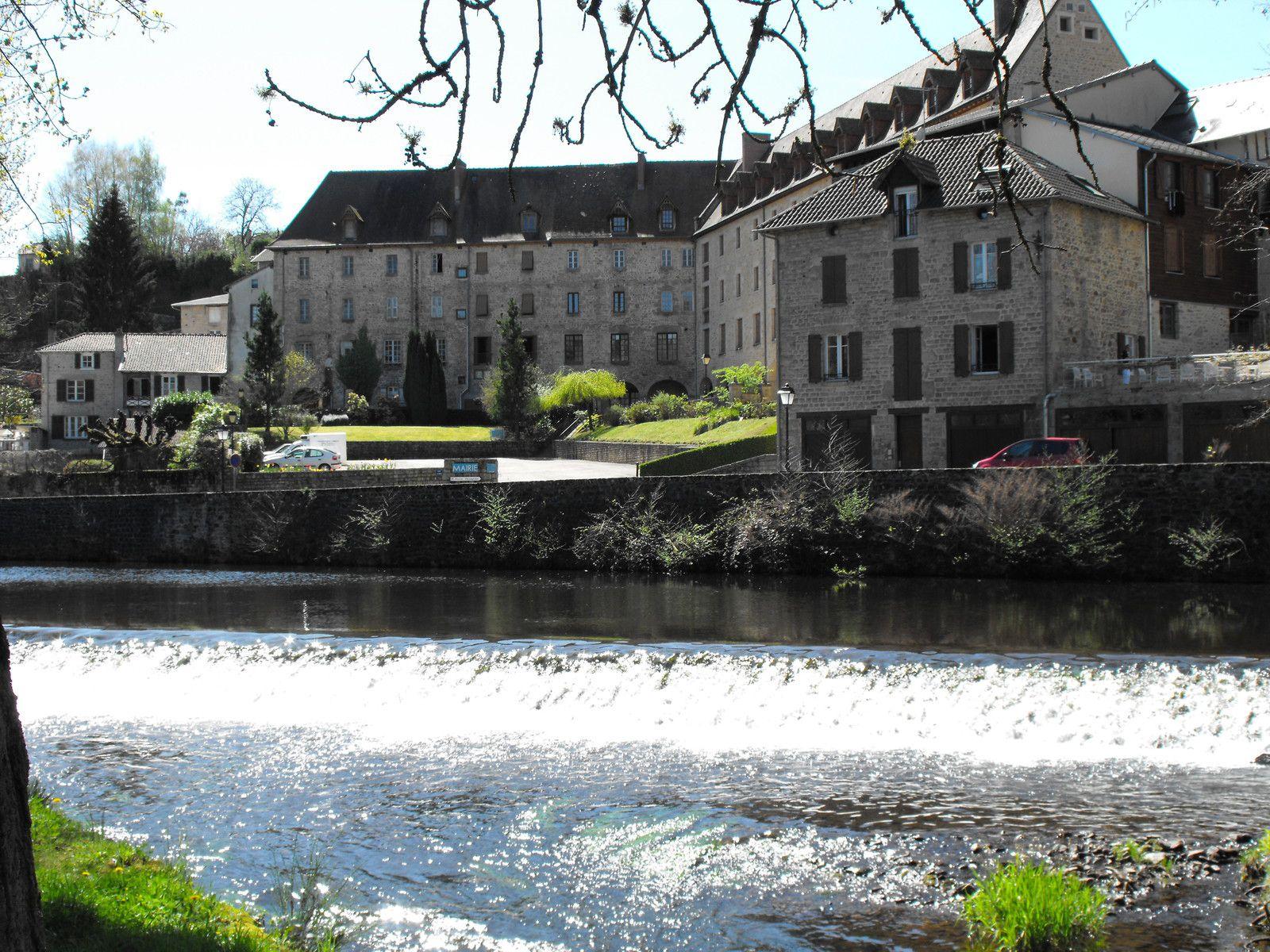 Le couvent de Ursulines à Eymoutiers