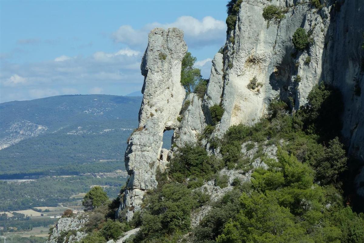 le beau calcaire du Lubéron