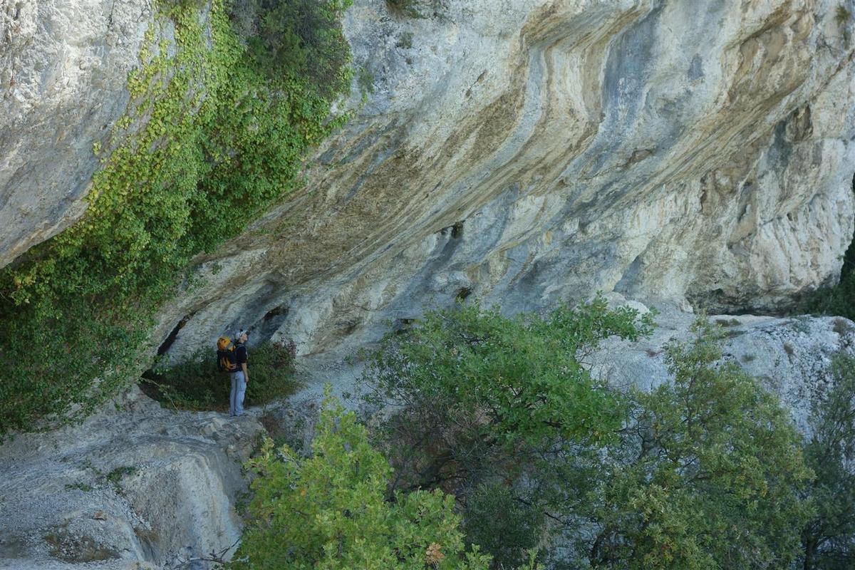 rochers de Baude et gorge de Badarel