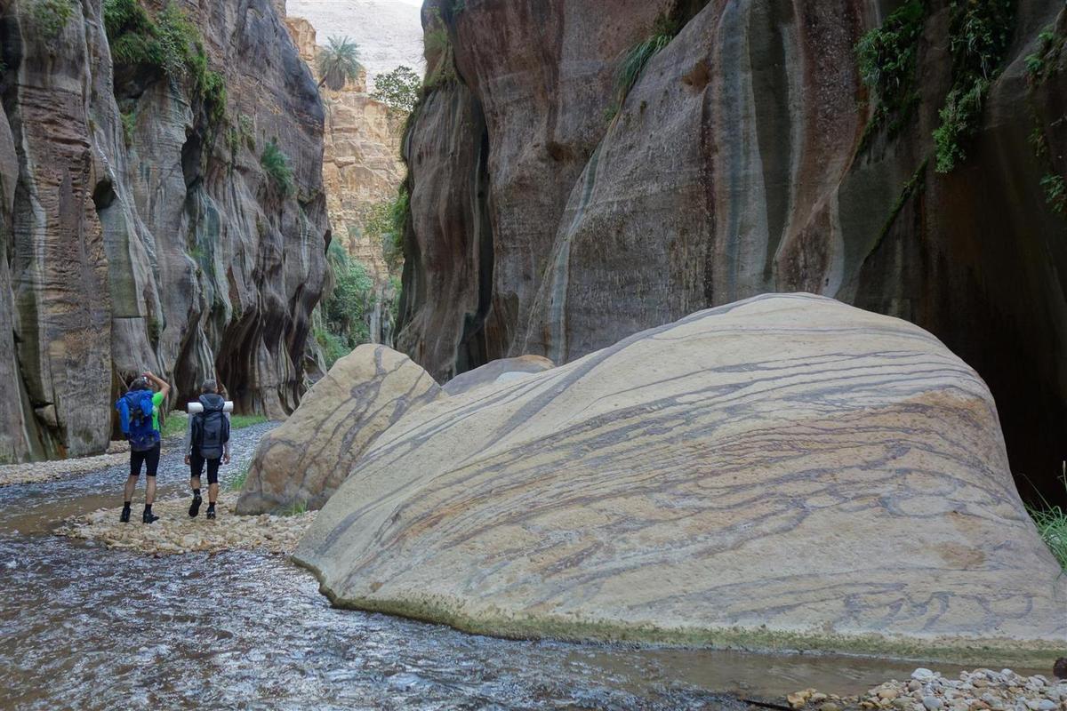 le wadi Hasa en bivouac