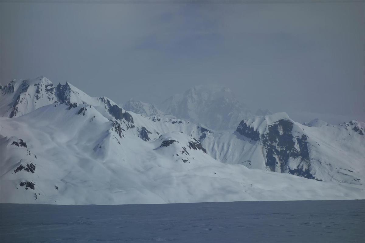 du sommet, vue vers le Mont-Blanc...