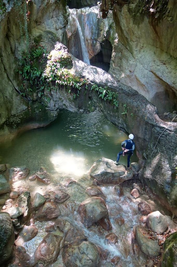 le superbe mais court mais canyon du Boyat