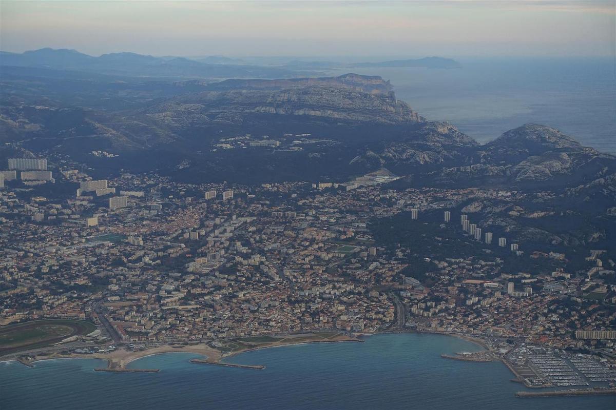 le 18 janvier :  les calanques et Marseille