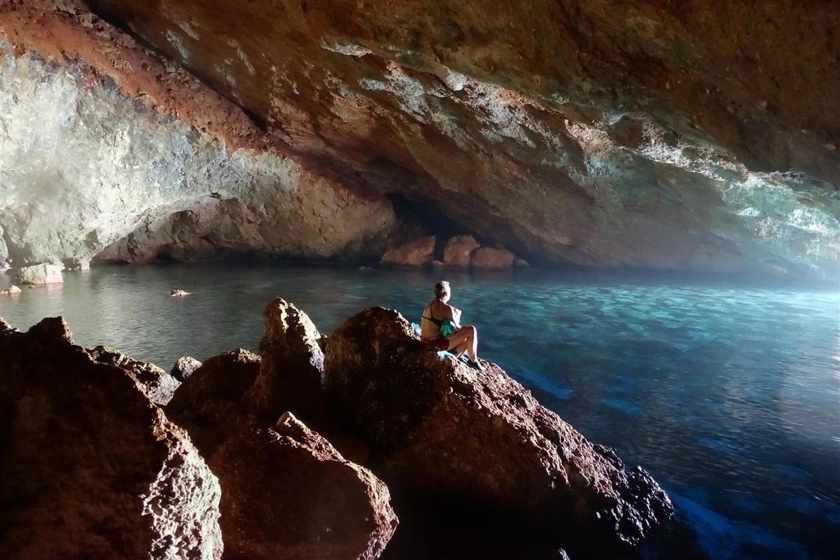 la grotte marine de Kaputas