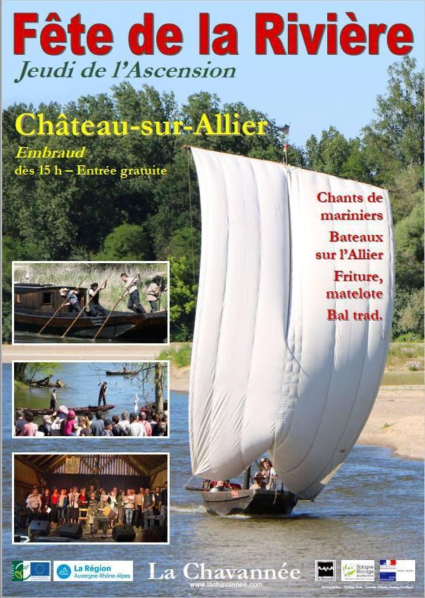 Bientôt à Château-sur-Allier la 25ème Fête de la Rivière...
