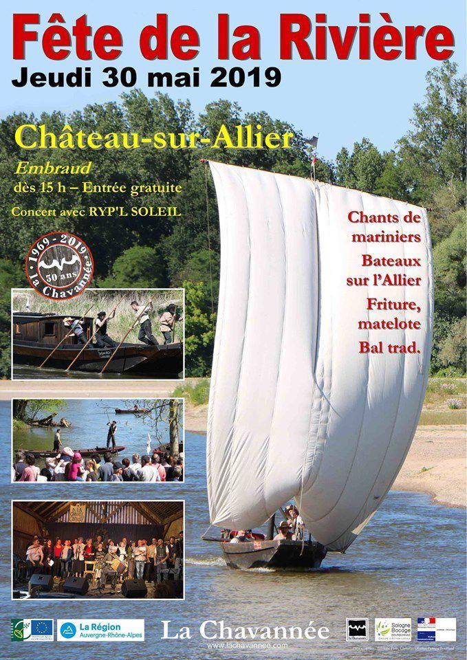Samedi 25 mai 2019  : préparation de la 26ème Fête de la Rivière