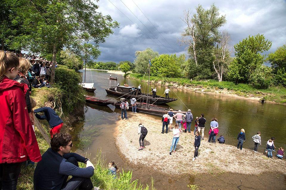 Un public venu nombreux et cette année un accès jusqu'au bord de l'eau