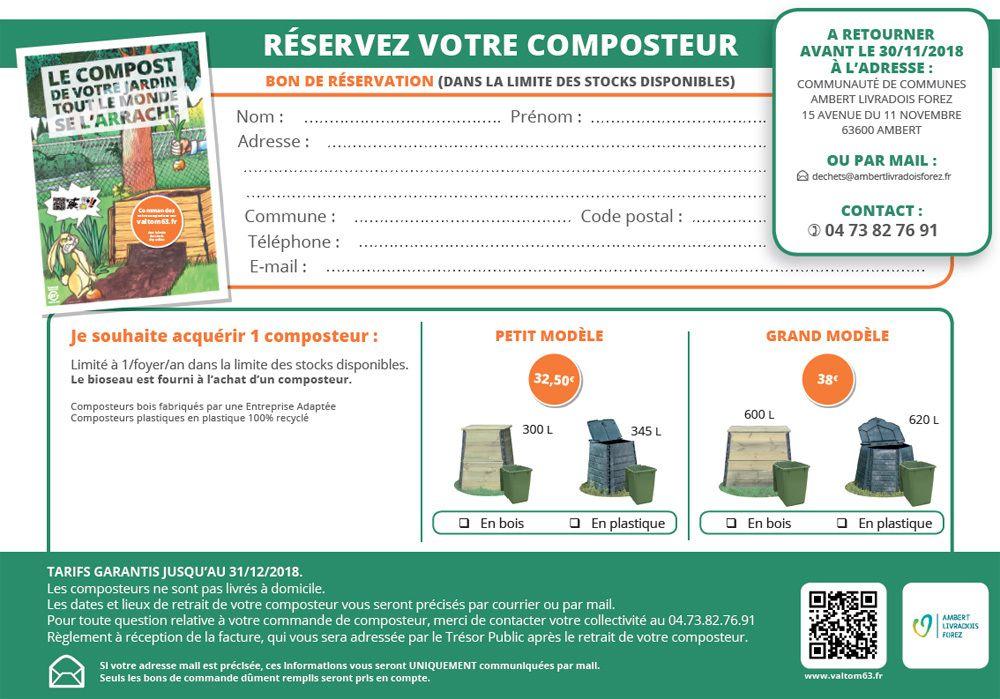 Réservez votre composteur