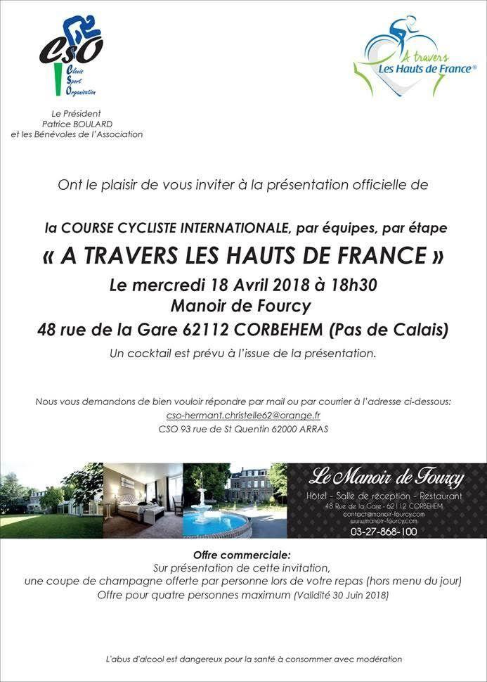 2018 04 18 Présentation officielle Manoir de Fourcy à CORBEHEM