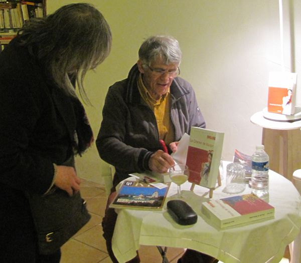 Jean Dherbey : rencontre à la librairie Elan Sud