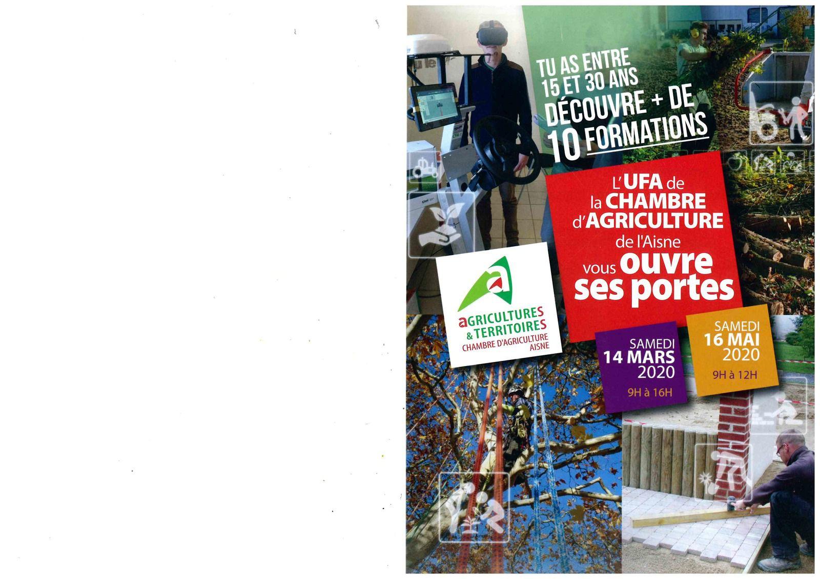 Portes ouvertes CFA Agricole Laon