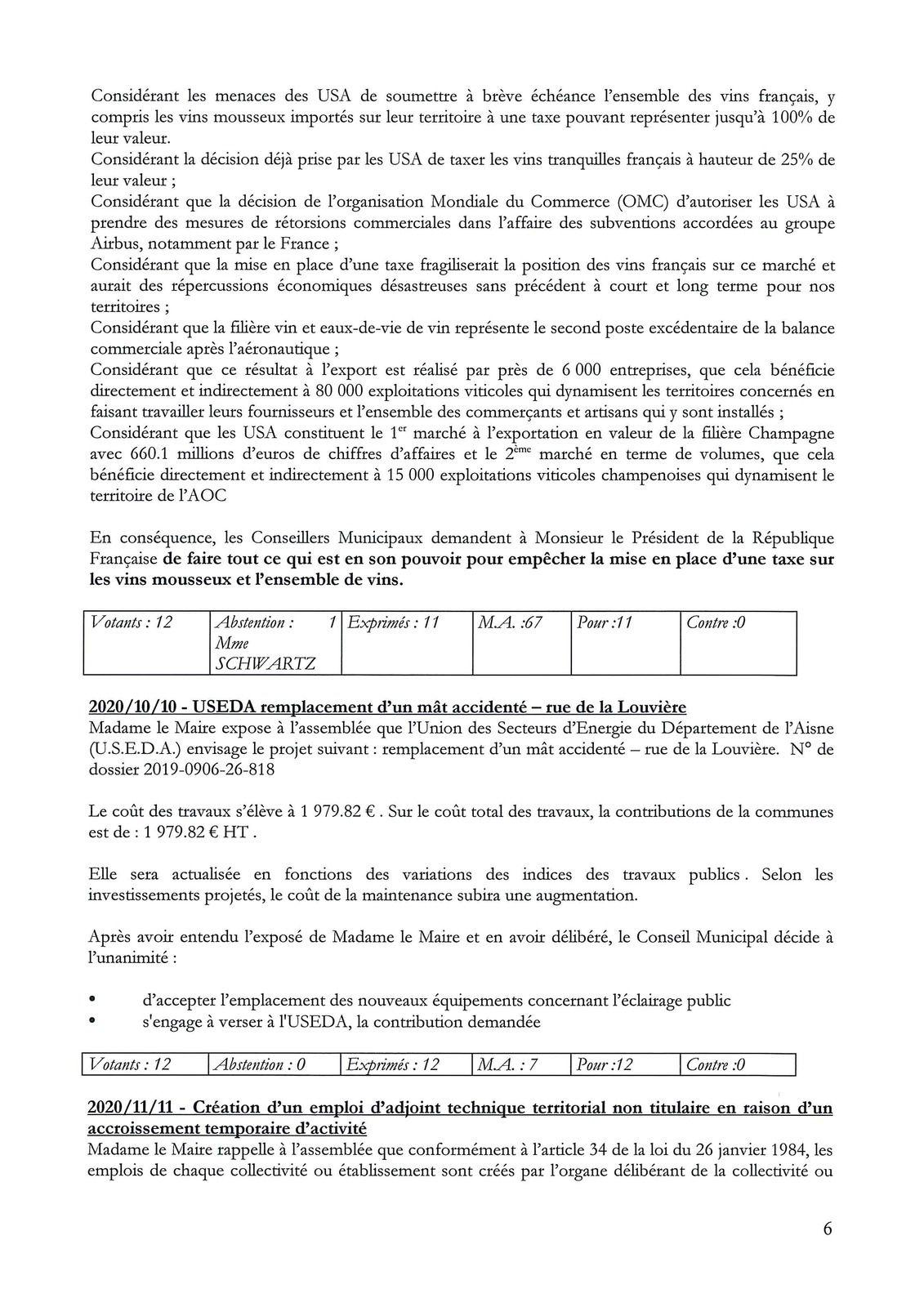 Compte-rendu du Conseil Municipal du 27 février 2020