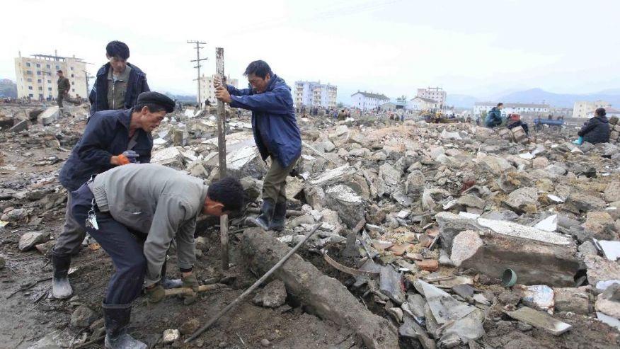 Avec le Secours populaire, agissons maintenant pour les Coréens victimes des inondations !