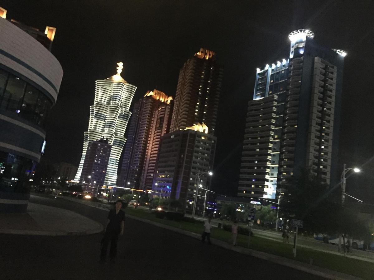 Rue Mirae, à Pyongyang (source : AAFC)