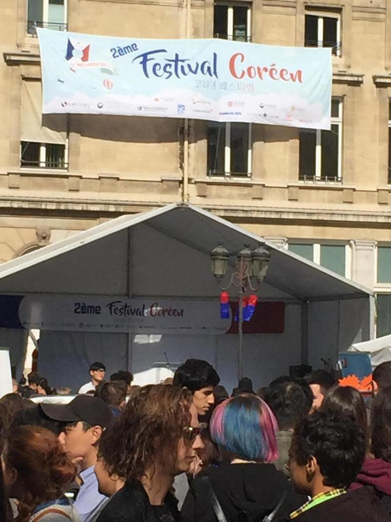 Retour en images sur le deuxième festival coréen à Paris 15e