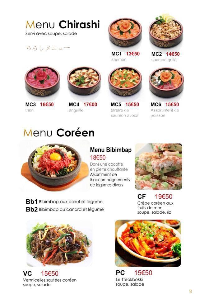 Yuki, un restaurant japonais (et coréen) à Besançon